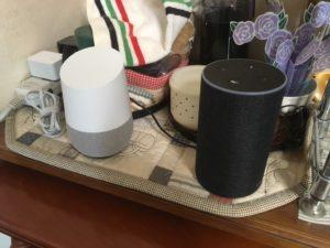 Amazon EchoとGoogle Home